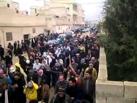 شام - حماه - حي كازو - جمعة الزحف إلى الساحات 30-12
