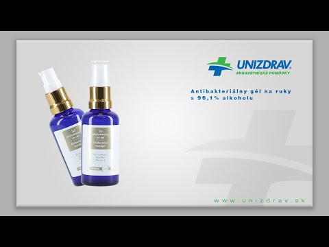 Antibakteriálny gél na ruky - VIDEONÁVOD