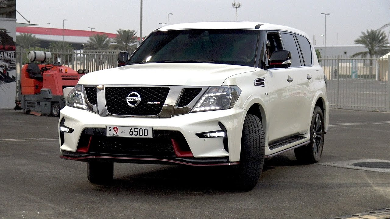 Patrol Nismo >> 2017 Nissan Patrol Nismo doing 1/4 Mile Drag Race - YouTube