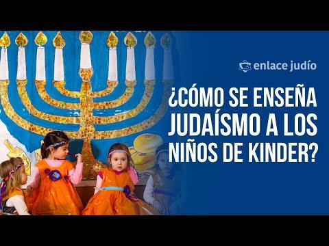 Enlace Judío - ¿Cómo se enseña judaísmo a los niños de kinder?