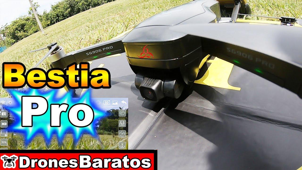 SG906 Pro Primer Prueba de Vuelo Calidad de la Camara exteriores - Prueba en Cali Colombia