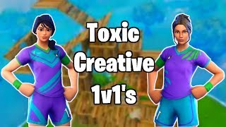 Toxic Sweaty Soccer Skin Creative 1v1's | The Battle of Supremacy | - Fortnite Battle Royale