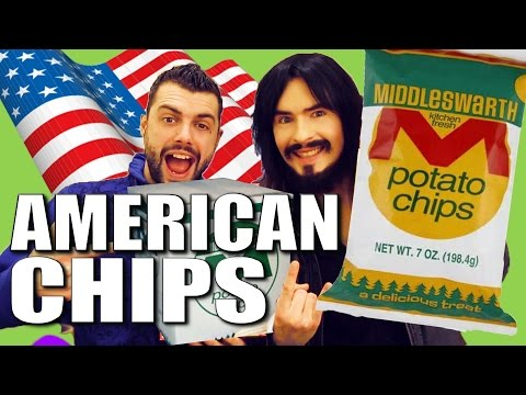 Irish People Taste Test 'American Potato Chips' - (( UnBoxing ))