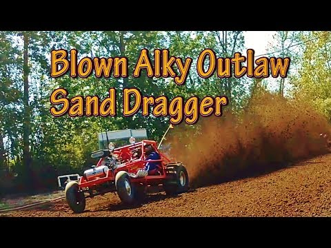 OG Outlaw Racers Thrash Blown Alky Dune Buggy #GearHeadsWorld Albany Sand Drags VIDEO
