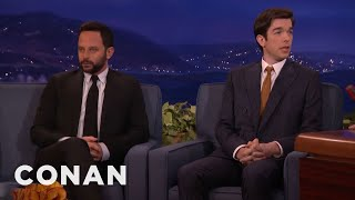 Conan Repairs Nick Kroll & John Mulaney's Friendship  - CONAN on TBS