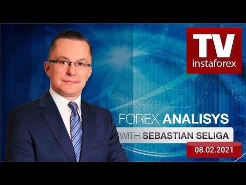 Forex forecast 08/02/2021 on EUR/USD, GBP/USD, Gold and Bitcoin from Sebastian Seliga