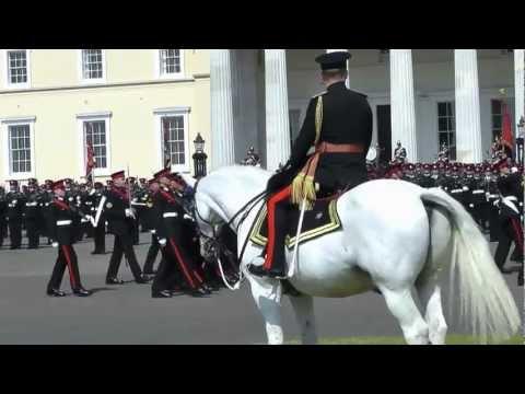 Sovereigns Parade - RMA Sandhurst Aug 2012