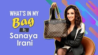 What's In My Bag With Sanaya Irani | Fashion | Ghost | Koimoi