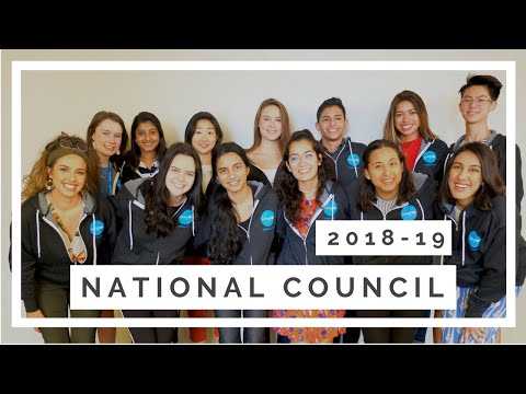 Introducing the 2018-19 National Council!