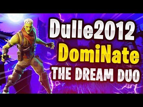🔴 SMÅLANDSDUON ÄR TILLBAKA!🔥 DomiNate inviger höstlovet med Dulle2012!🍂 // Fortnite Battle Royale
