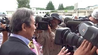 多々見良三舞鶴市長が舞鶴医療センターから退院①2018年6月14日