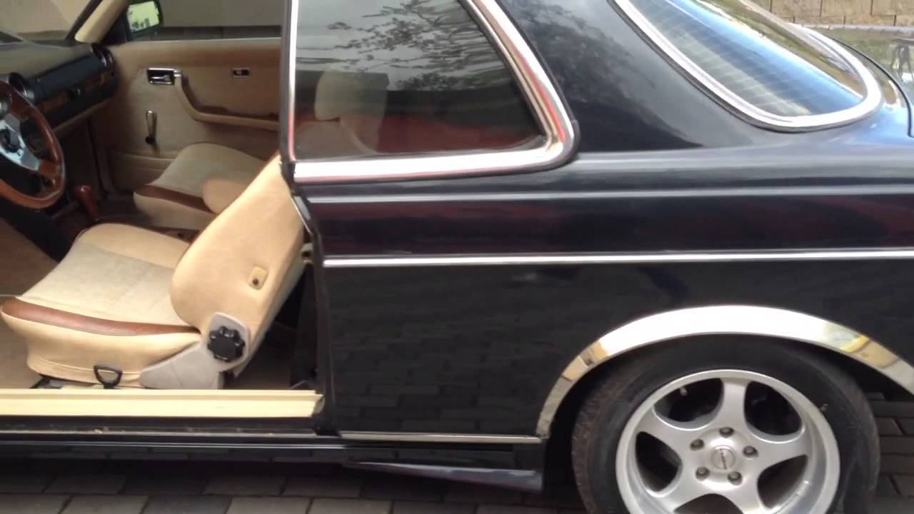 Mercedes Benz 280cr W123 Coupe Youtube