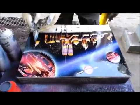 Spray Paint Universe Tutorial