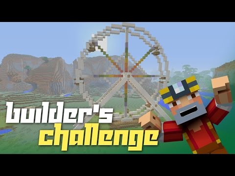 Minecraft Xbox One: Builder's Challenge! Ep.6 (Ferris Wheel!)