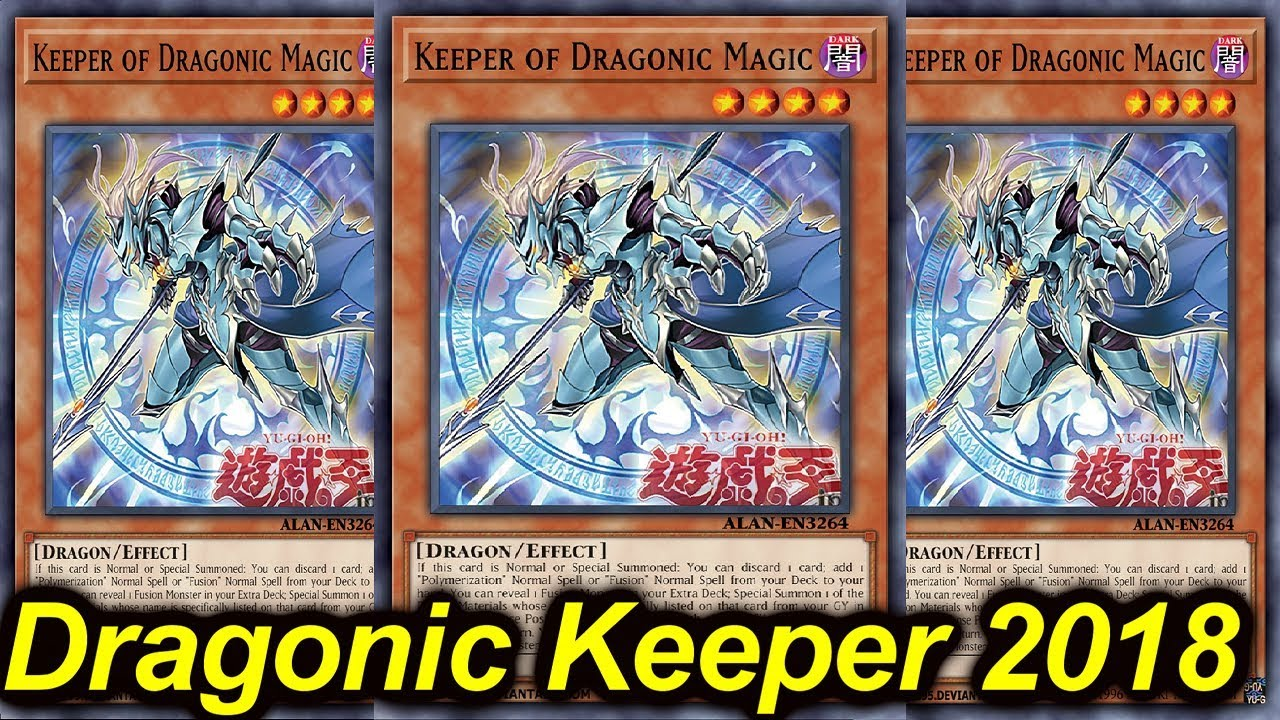 【ygopro】keeper Of Dragonic Magic Deck 2018 Youtube