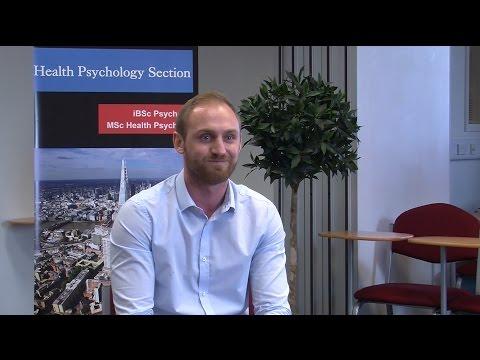 Jacob Crawshaw, former MSc Health Psychology student