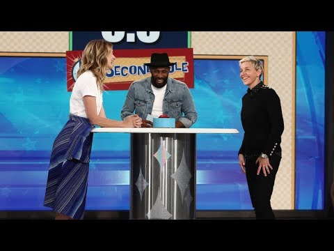 Laura Dern and Ellen Play '5 Second Rule'