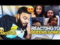 REACTING TO MY GIRLFRIEND'S SONG ABOUT ME..