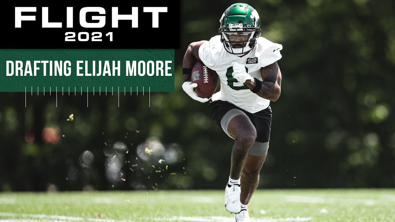 Flight 2021 Short: Why Jets Loved Elijah Moore In NFL Draft | New York Jets | NFL