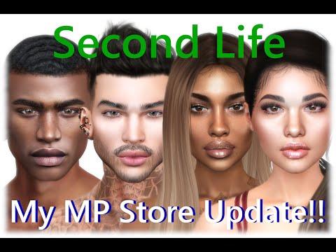 【Second Life】My MP Store Update!!  #SL #SecondLife #セカンドライフ