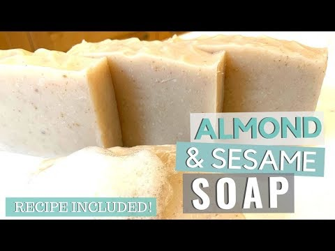 DIY Almond Soap