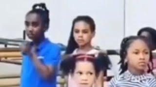 Blue Ivy Carter in rehearsals for her school dance recital - Beyonce raising her as a normal kid!
