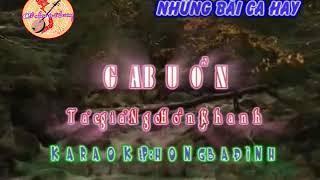 Karaoke Vọng cổ Ga Buồn Ngô Hồng Khanh