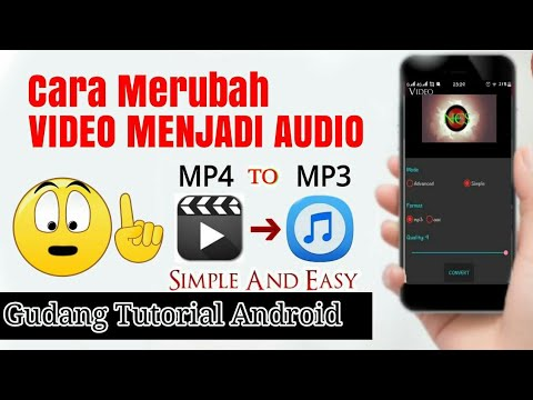 Convert video to audio (mp3/acc) on android