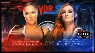 WWE News: Becky Lynch Vs. Ronda Rousey Set For WWE Survivor Series, World Cup + More