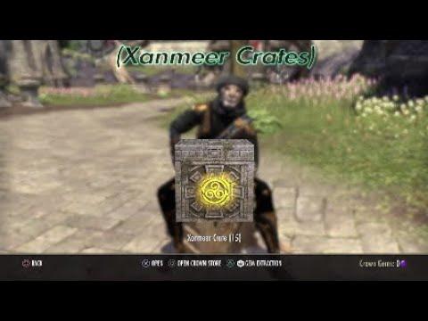 Elder Scrolls Online Crate Opening |