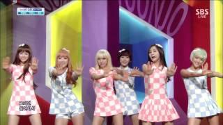 헬로비너스 (Hello Venus) [차마실래] @SBS Inkigayo 인기가요 20130505