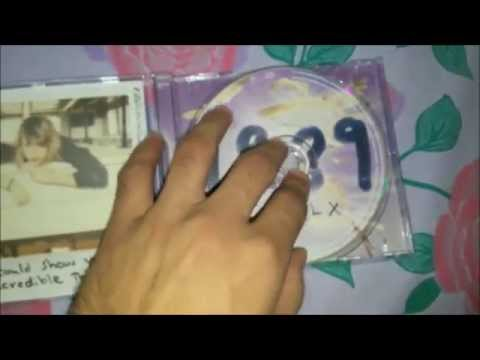 Unboxing : Taylor Swift 1989 Deluxe Edition
