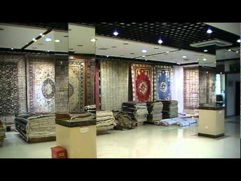 Shanghai Silk Carpet Factory Youtube
