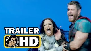 THOR: RAGNAROK (2017) Bloopers Gag Reel Outtakes Trailer |FULL HD| Marvel Supehero Movie
