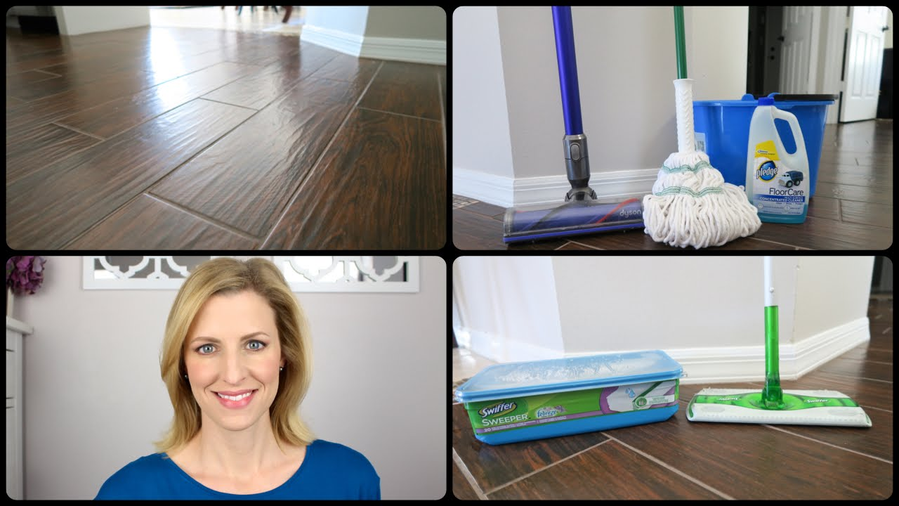 How To Clean Wood Look Tile  #woodlooktile