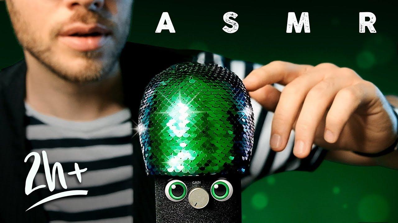 Asmr No Talking asmr epic blue yeti xxl trigger compilation for tingles, sleep & relaxation  [no talking]