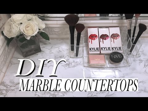✧DIY MARBLE COUNTERTOPS✧