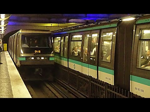 Métro de Paris, ligne 4 : Matériel MP89 Ratp