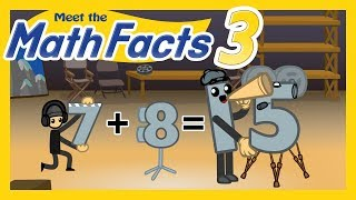 Meet the Math Facts Addition & Subtraction - 7 + 8 = 15
