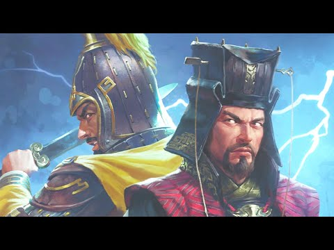 Cao Cao and Yuan Shao starting positions. Fates Divided DLC. Total War Three Kingdoms. |