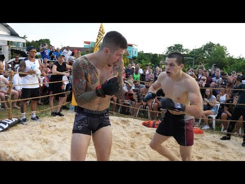 RUGBY PLAYER vs World MMA Fighters !!!!