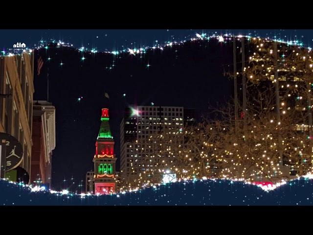 Downtown Denver Holiday Lights 2020
