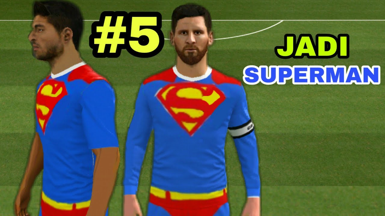 397da2fa3 How To Make Your Own Kits in Dream League Soccer 2018 (Kits Superman ...