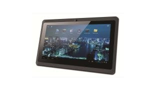 Tablet Phaser Kinno II 7, Android 40, Processador AllWinner A13 de 1.0 GHz, 4GB, Memória RAM 512MB,