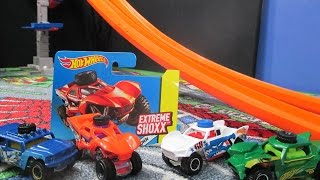 Hot Wheels Extreme Shoxx Product Review And Track Testing