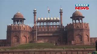 Delhi: View From Red Fort After Yesterday's Incident Of Violence \u0026 Vandalism