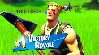 kid Gets Bullied On Fortnite!!!