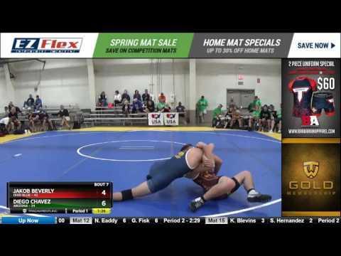 170 Jakob Beverly Ohio Blue vs Diego Chavez Arizona 8389934104