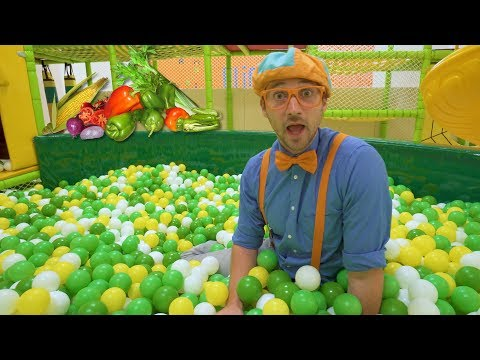 Learn Vegetables for Children with Blippi | Healthy Eating Videos for Kids