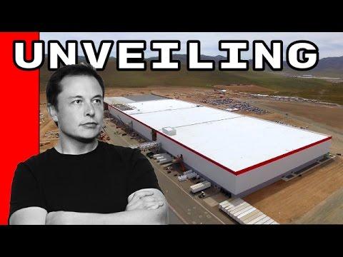 Tesla Gigafactory Unveiling - Opening Launch